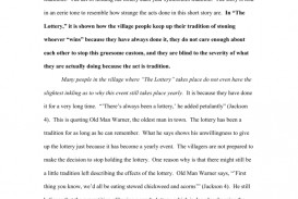 001 008060199 1 The Lottery Essay Amazing Pdf Prompts Introduction