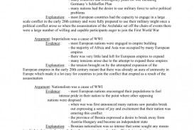 001 008438325 1 Causes Of World War Essay Awesome Conclusion Dbq