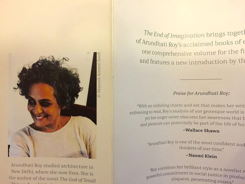 001 29712606991 5ca5892526 B Essays By Arundhati Roy Essay Sensational Large