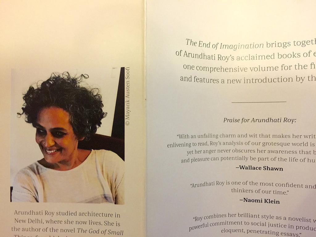 001 29712606991 5ca5892526 B Essays By Arundhati Roy Essay Sensational Full