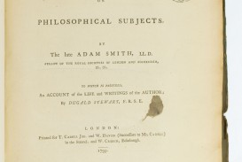 001 66518 2 Essays On Philosophical Subjects Essay Best Summary Adam Smith
