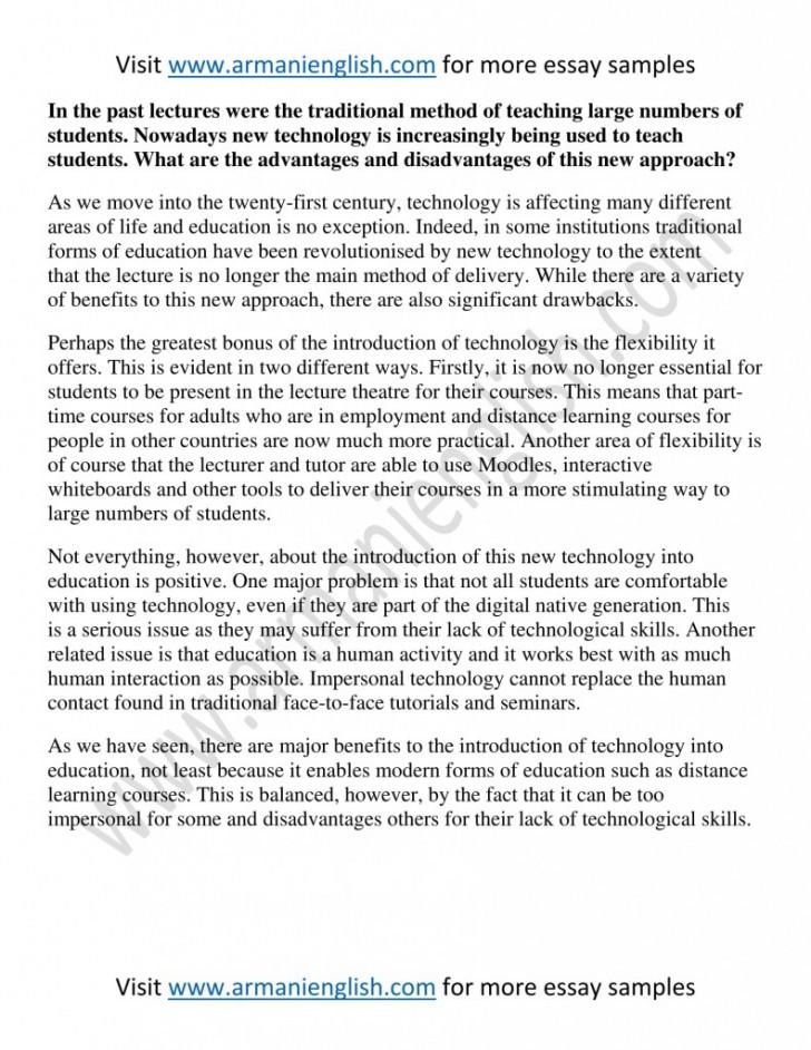 001 791x1024 Essay Example Advantages Formal Stupendous Education 728