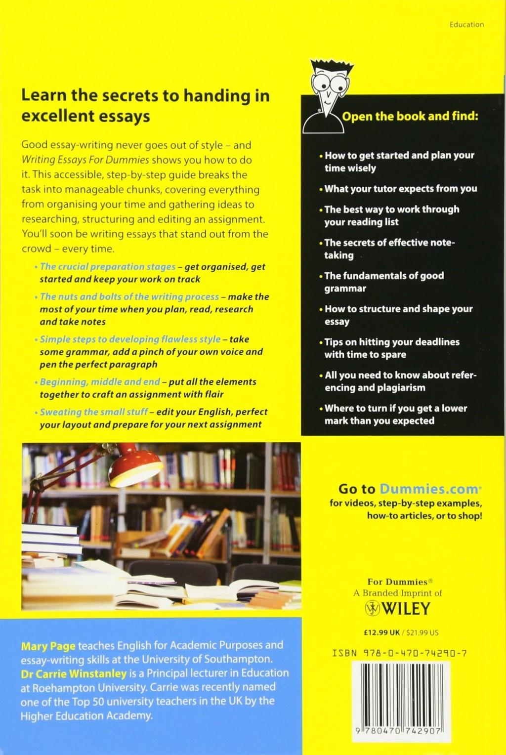 001 81ezsvpvmal Writing Essays For Dummies Essay Wondrous Pdf Free Download Cheat Sheet Large