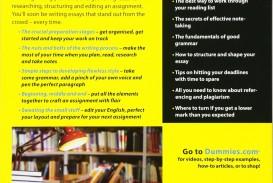 001 81ezsvpvmal Writing Essays For Dummies Essay Wondrous Pdf Free Download Cheat Sheet