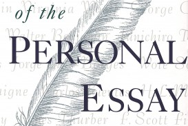 001 91bxbkzxmml The Art Of Personal Essay Beautiful Phillip Lopate Table Contents Sparknotes
