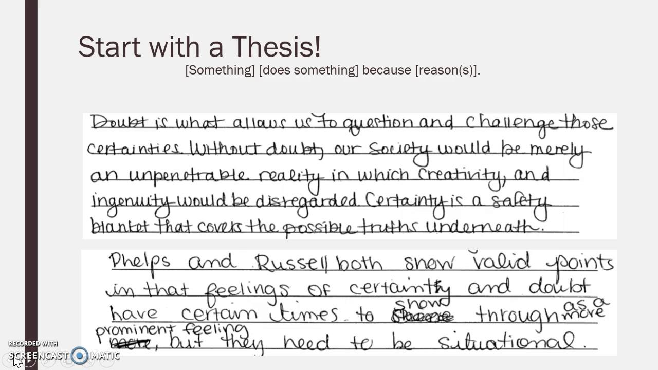 001 Ap Lang Argument Essay Example Dreaded 2017 Full