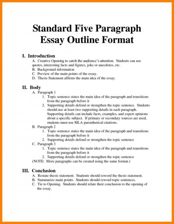 001 Argumentative Essay Format Example Outline Oracleboss Best Template Sample Pdf 360