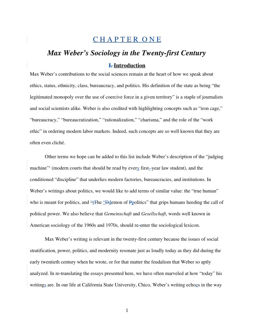 001 Bureaucracy Max Weber Essay Example ~ Thatsnotus