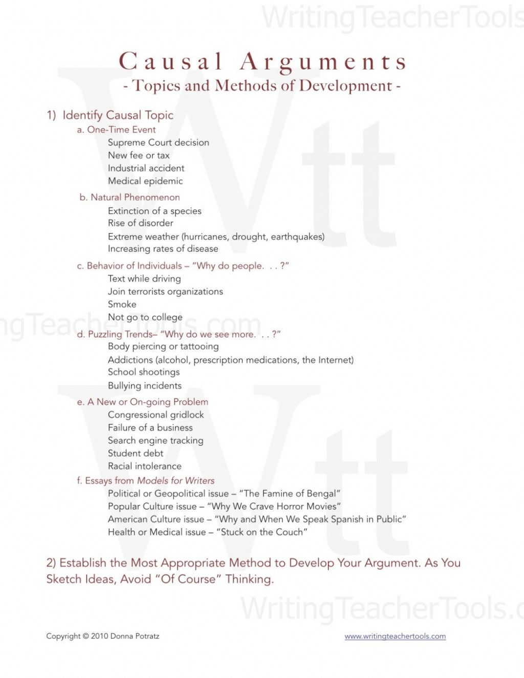 001 Causal Essay Topics Example Analytical Topic Ideas Of An Analysis Process For College Students Argument And Methods Develo Rare Chain Good Large