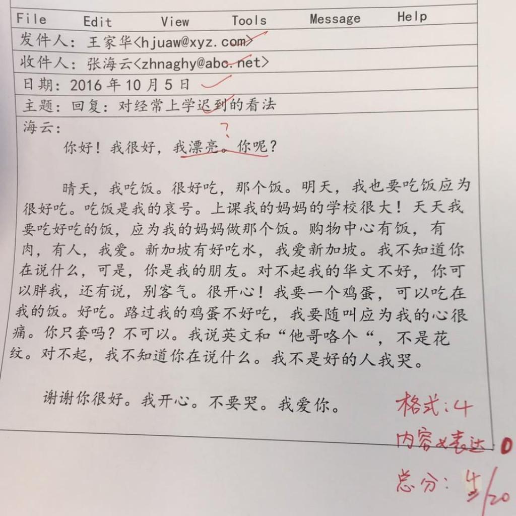 001 Chinese Essay Amazing Language Writing Letter Format Topics Large