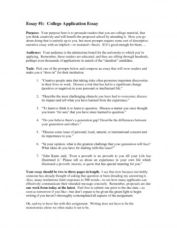 001 College Application Essay Admissions Exceptional Format Heading Example Help Admission Examples Ivy League 360