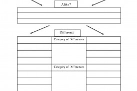 001 Compare And Contrast Essay Graphic Organizer Wondrous Middle School