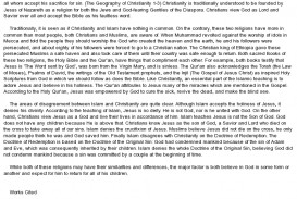 001 Comparecontrast Christanity Vs Islam Essay On Christianity Frightening Religious Festivals In Hindi Language Conflicts India