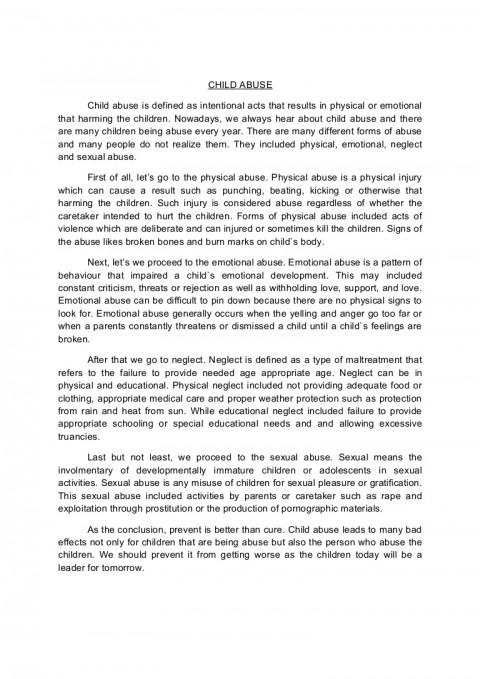 001 Conclusion Of Abuse Essay Childabusenewessay Phpapp02 Thumbnail Archaicawful Drug Alcohol 480