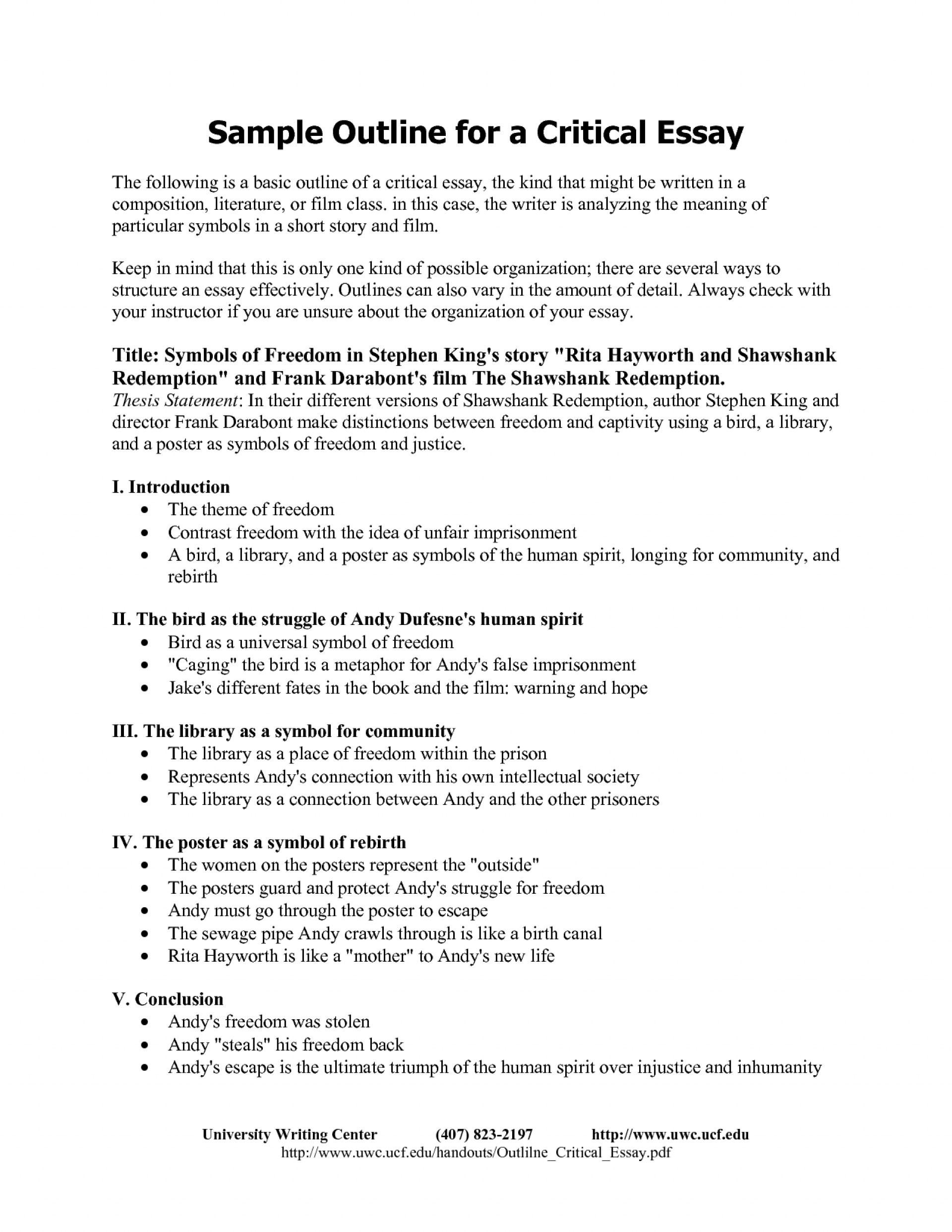 001 Critical Essay Outline Format 130831 Example How To Begin Amazing A Review Structure Response 1920