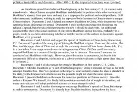 001 Dbq Essay Example 007284574 1 Rare Middle School 2002 Ap World History 2006