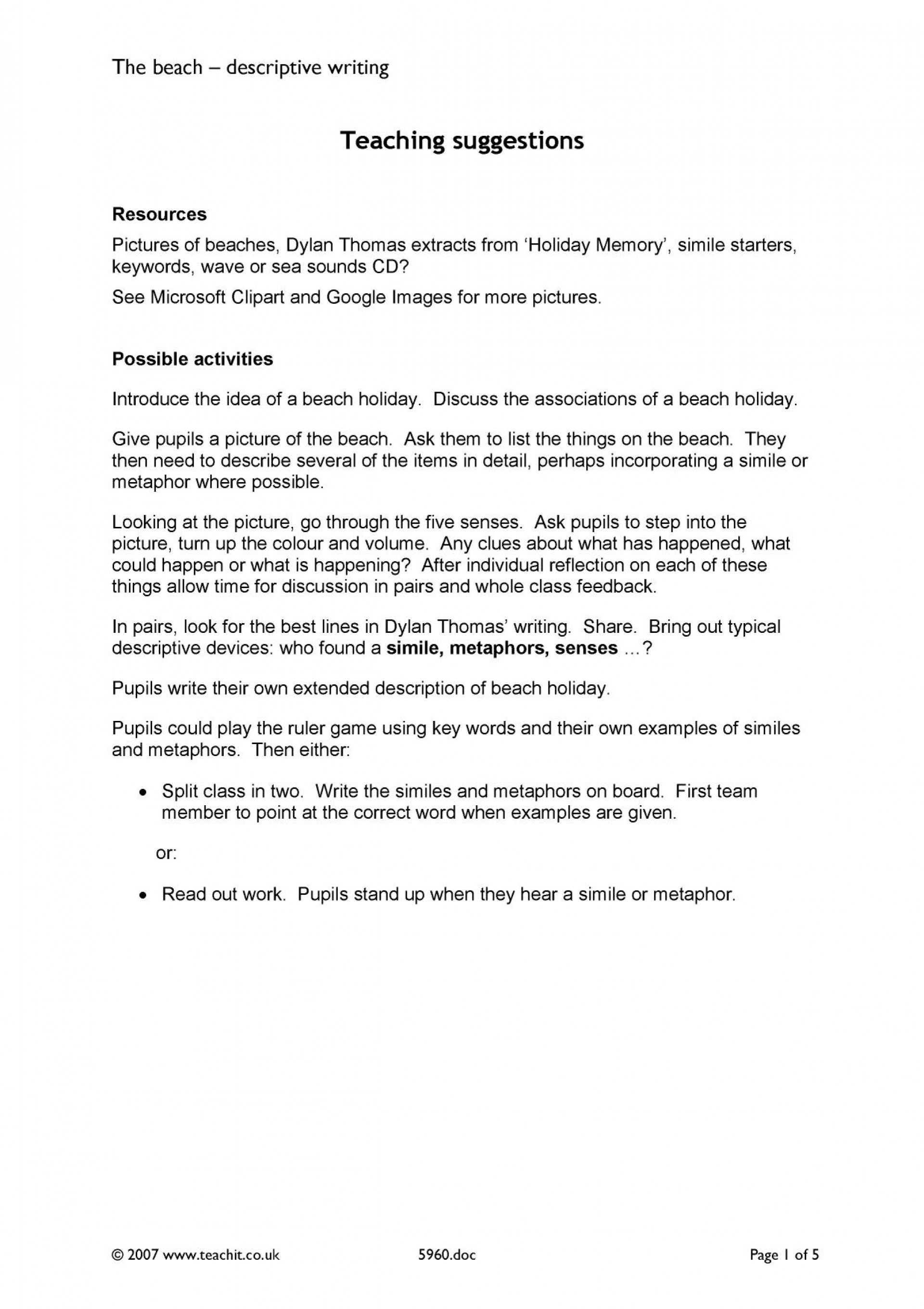 001 Descriptive Essay About The Beach X7229 Php Pagespeed Ic Wgs9dx8iuw Impressive At Night Writing In Summer 1920
