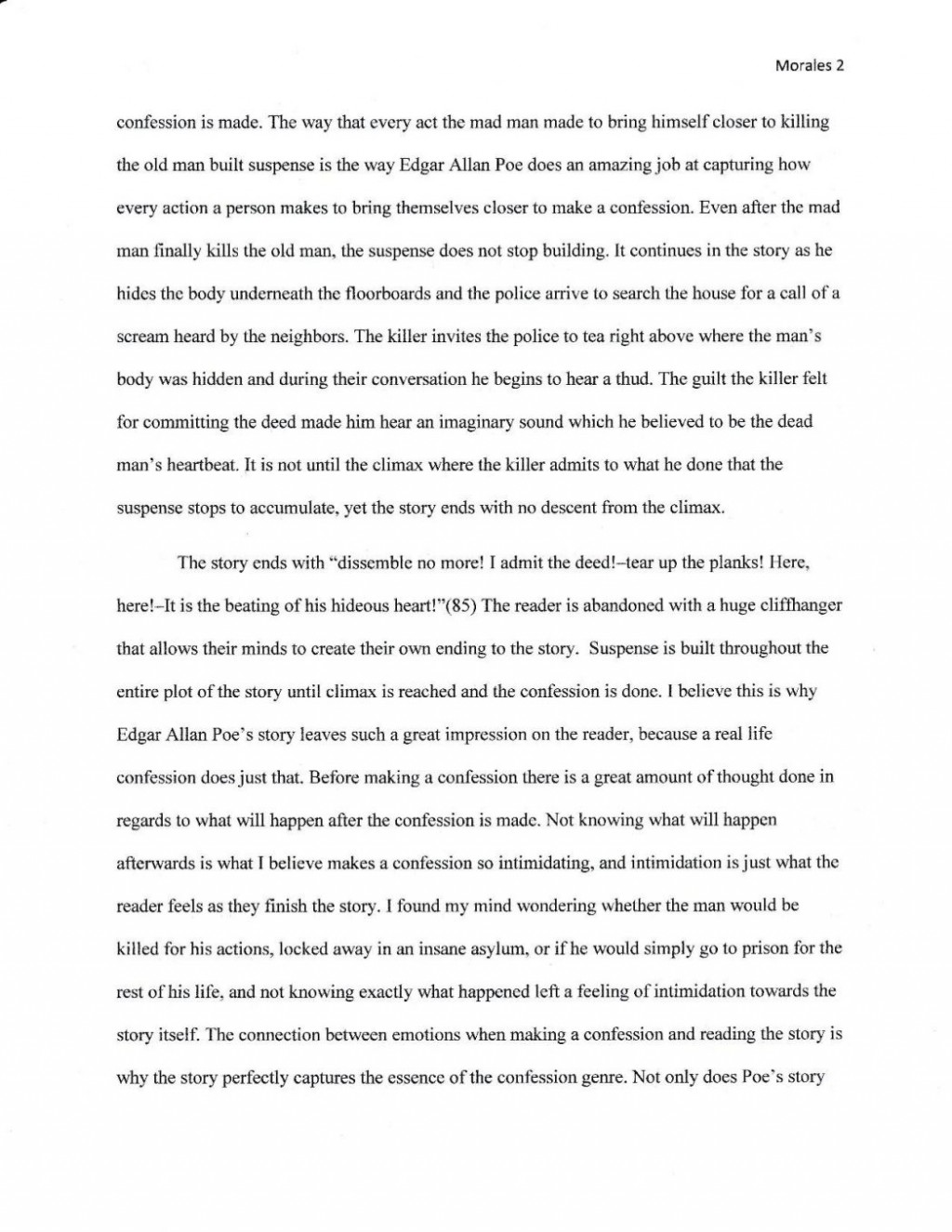 001 Edgar Allen Poe Essay Help Cant Do My Analyzing The Bells An Merged Document 3 Pag On Allan Style Of Writing 1048x1357 Stirring Raven Topics Titles Explanation Large
