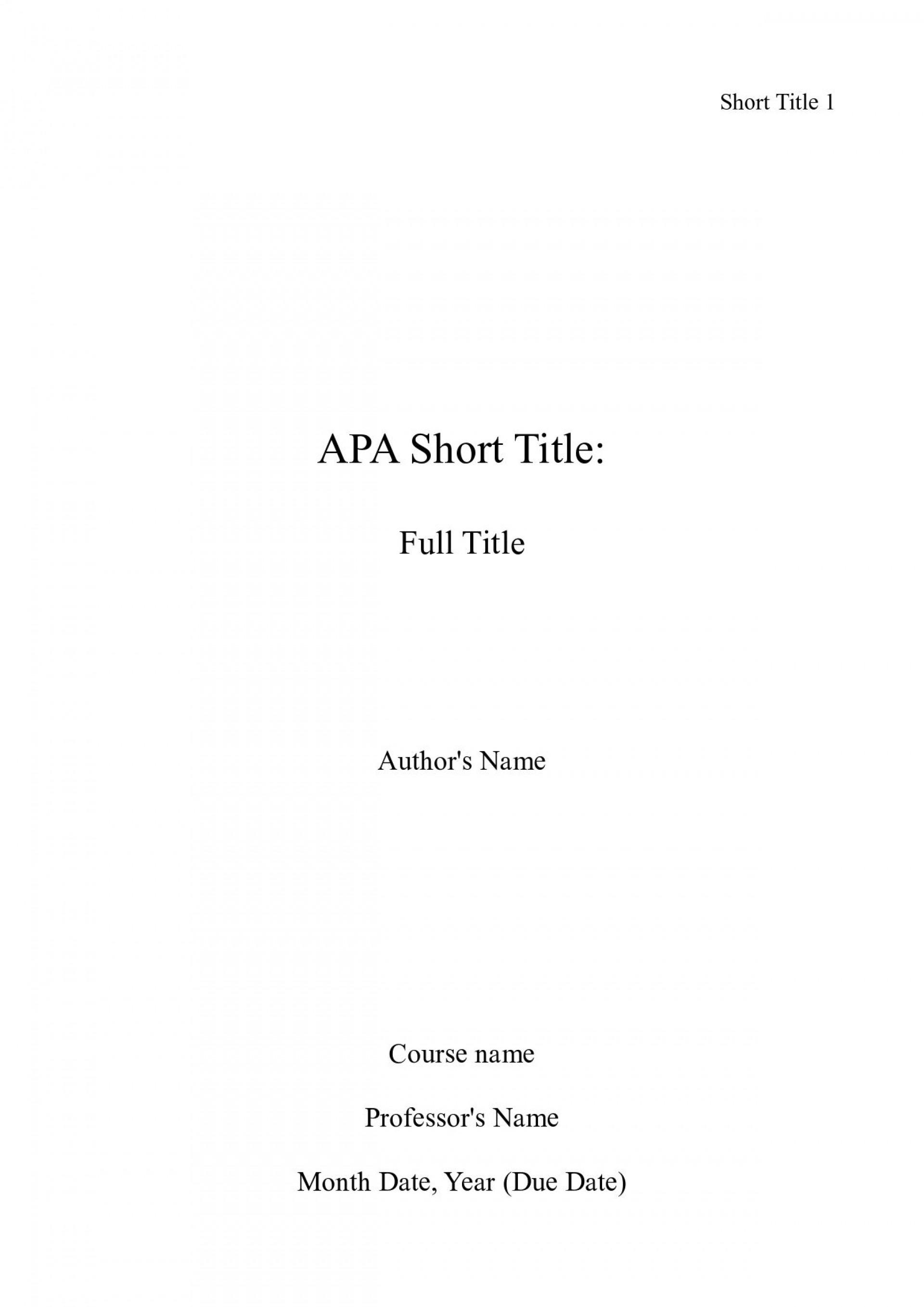 001 Essay Cover Page Apa Example Impressive Correct Title Proper Format 1920