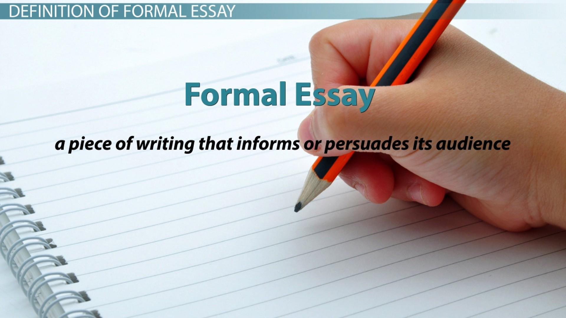 001 Essay Example  Definition Examples 111863 Best Formal Literary And Language Writing1920