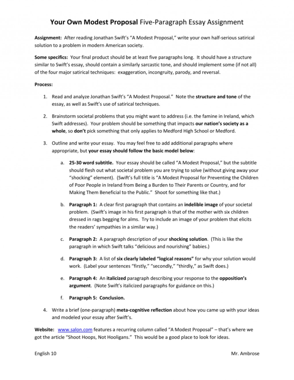 001 Essay Example 007326539 1 Modest Exceptional Proposal Conclusion Topics Prompts Large