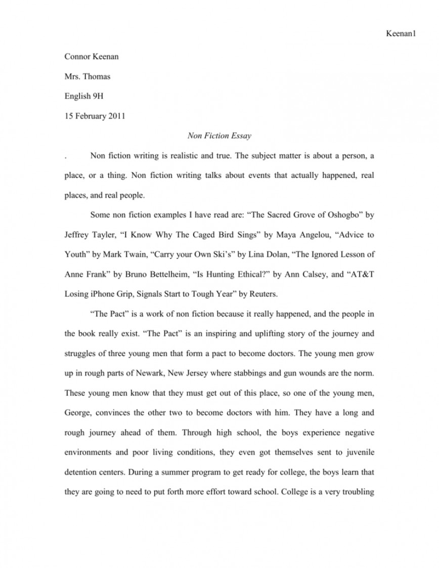 001 Essay Example 008040169 1 Imposing Fiction Outline Historical Sample Non Topics