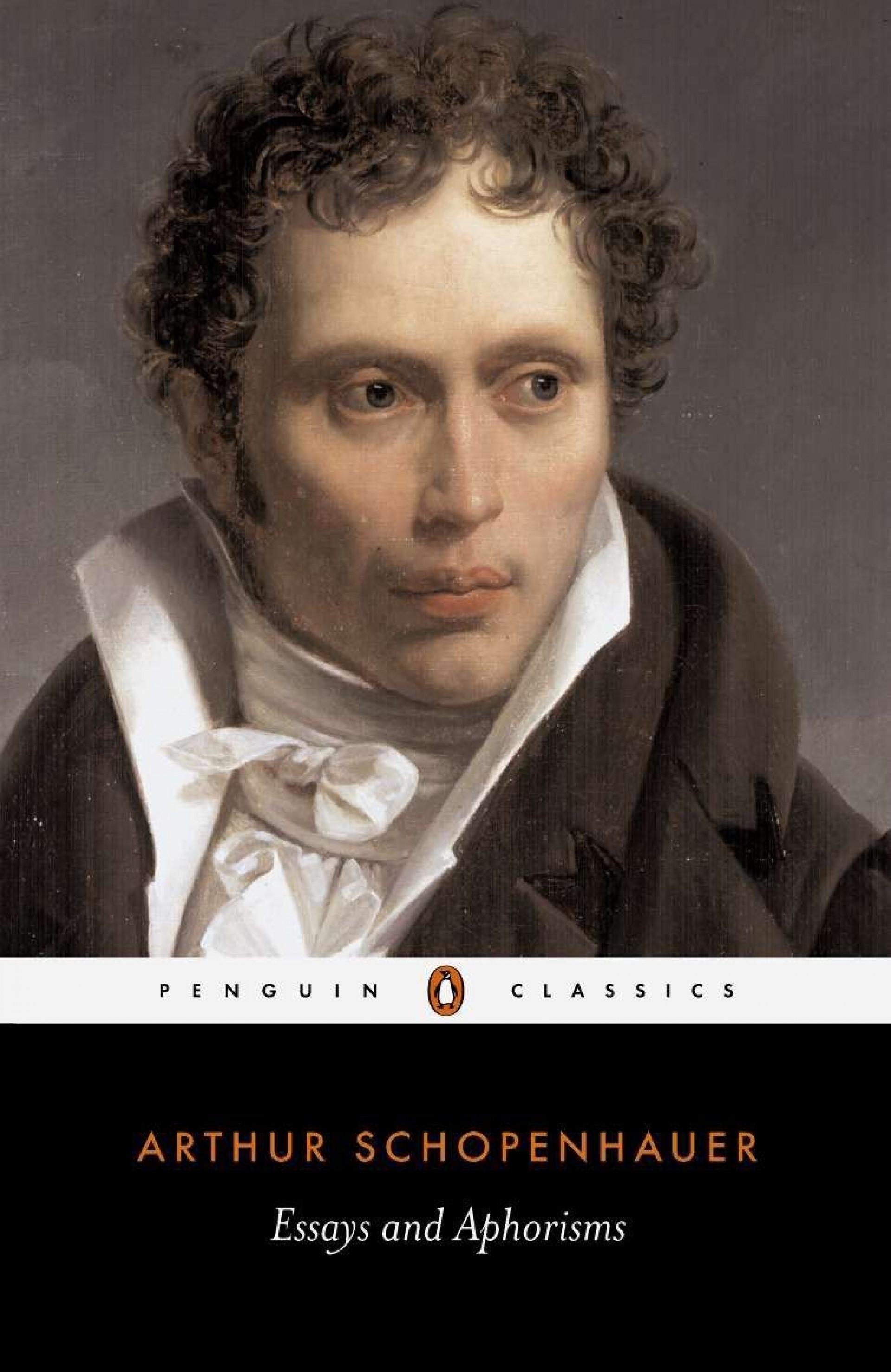 001 Essay Example 61iwcxsw0tl Essays And Frightening Aphorisms Pdf Schopenhauer 1920