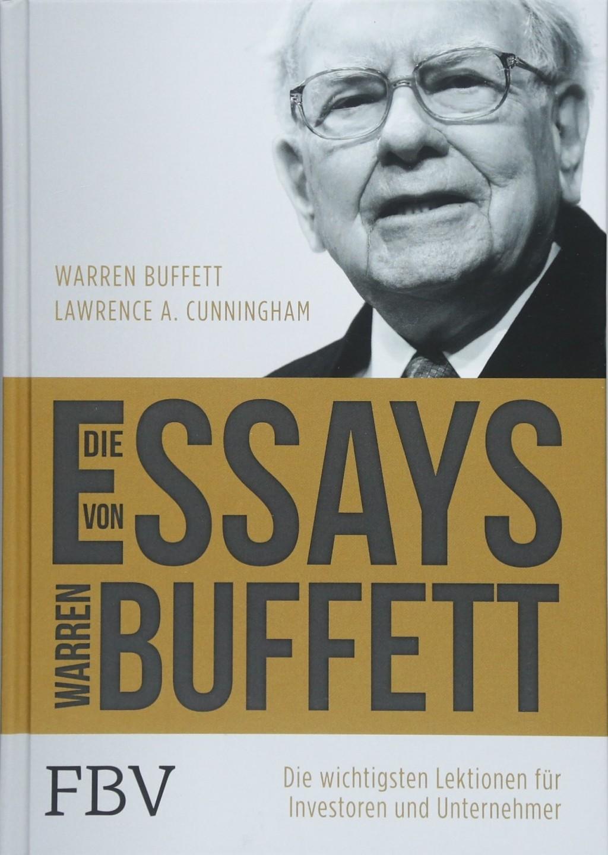 001 Essay Example 81hgobz2bc1l Die Essays Von Warren Archaicawful Buffett Das Buch Für Investoren Pdf Und Unternehmer Large
