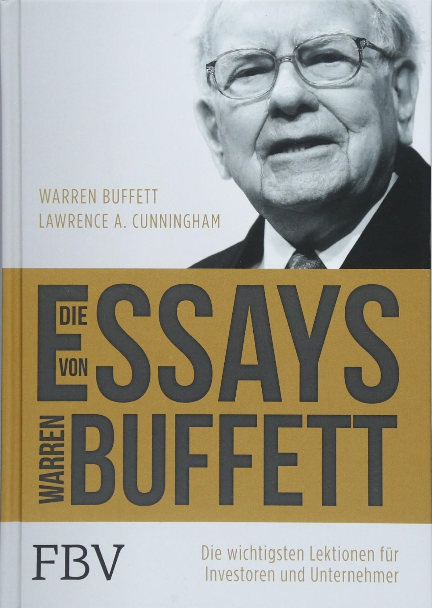 001 Essay Example 81hgobz2bc1l Die Essays Von Warren Archaicawful Buffett Das Buch Für Investoren Und Unternehmer Pdf 1400