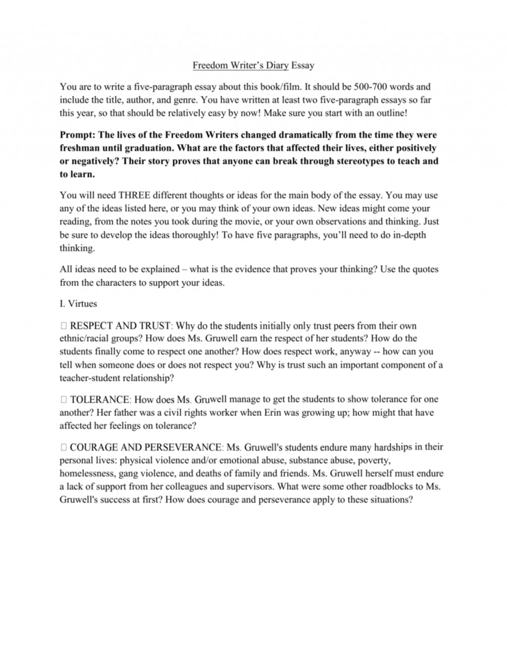 001 Essay Example About Freedom Writers 008589673 1 Striking Questions For Movie Narrative Large