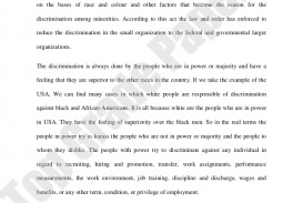 001 Essay Example Academicassignmentessay Racialdiscrimination Www Topgradepapers Com Phpapp02 Thumbnail Racial Imposing Discrimination Outline In Hindi