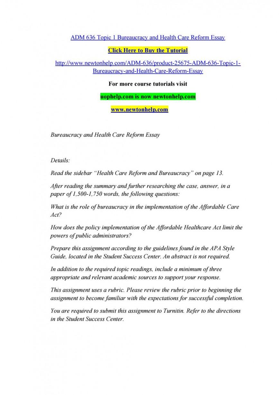 001 Essay Example Affordable Care Act Obamacare Com English Speech P Argumentative Stupendous Outline Conclusion