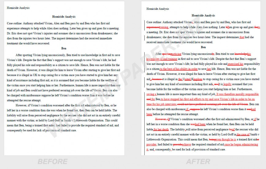 001 Essay Example Before After Proofread Remarkable My Essay/freelance Promo Code