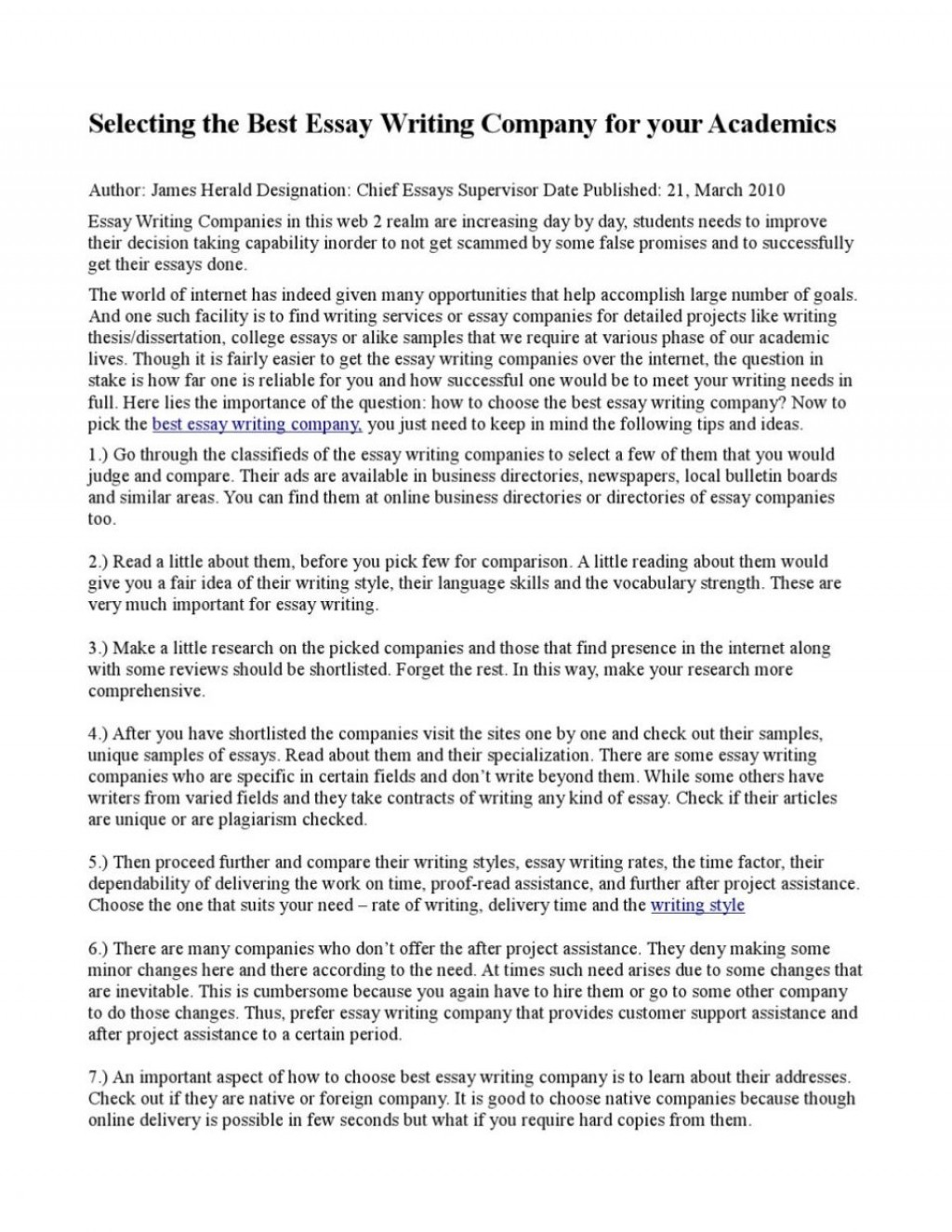 001 Essay Example Best Writing Company Uk Top Companies Websites Sites Large