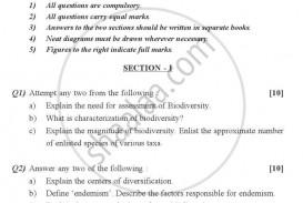 001 Essay Example Biodiversity Topics University Of Pune Master Msc Conservation Environmental Science Semester 2013 2101f4167960044618caf40eb408c72b0 Phenomenal Questions