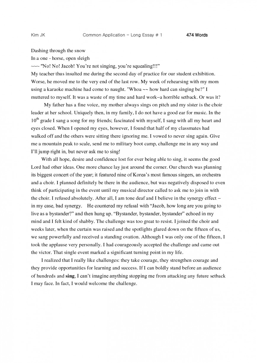 001 Essay Example Brilliant Ideas Of Collegepplication Examples Format Targer Golden Dragon Fantastic Good Commonpp Essays Successful Dreaded Common App Ivy League Stanford Harvard