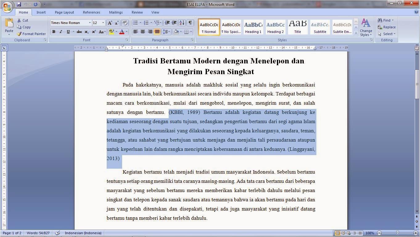 I neeed a essay