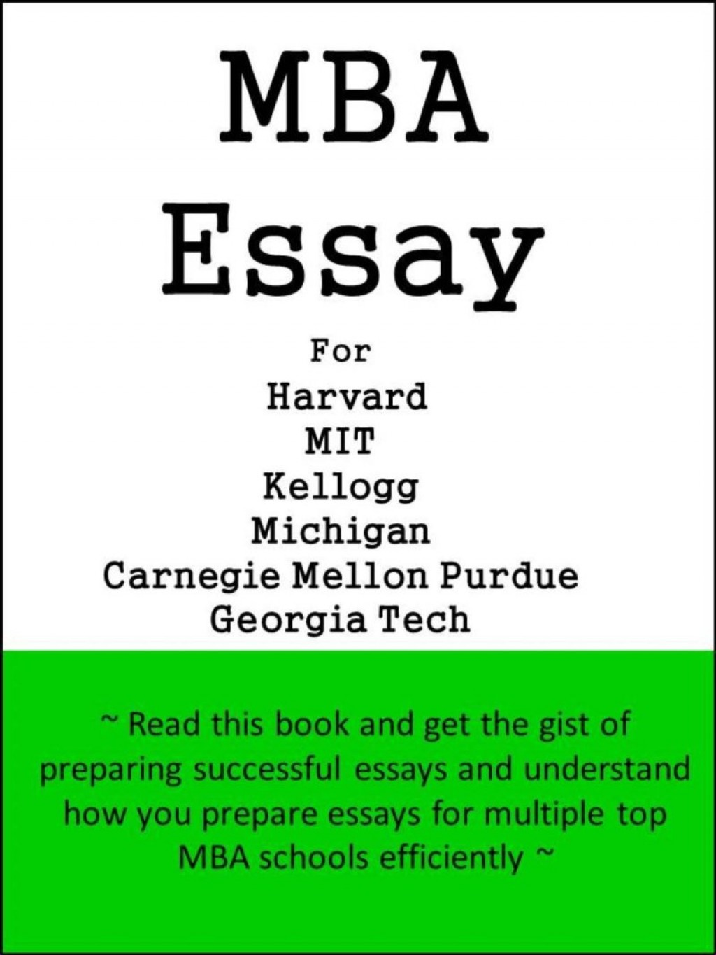 001 Essay Example Carnegie Mellon Kellogg Mba Examples Poemsrom Co For Harvard Mit Michigan Purdue Georgia Tech 205 Striking Sat Requirement Questions Large