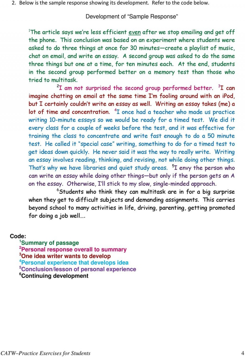 001 Essay Example Catw Samples Essays Different Types Of Examples Stunning Large