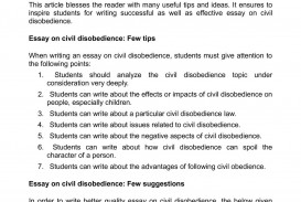001 Essay Example Civil Disobedience Marvelous Quotes Thesis Questions