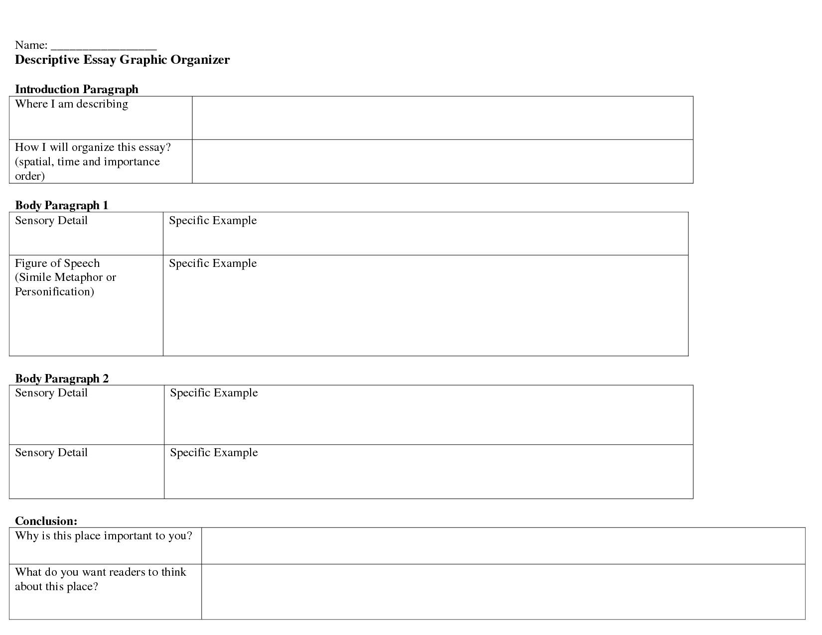 001 Essay Example College Organizer Corner Of Chart And Surprising Application Graphic Organizers Argumentative Full