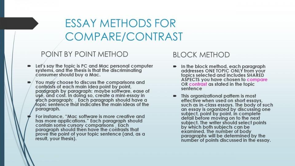 001 Essay Example Compare And Contrasting Contrast Point By Writing Method In Kannada Sli Methods Models Methodology Sample Pdf Urdu Hindi Methodologie Ielts Wonderful Outline 960