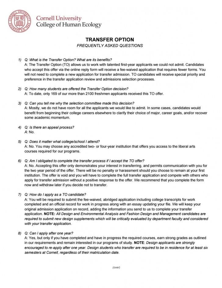 023 Essay Example Cornell Thatsnotus