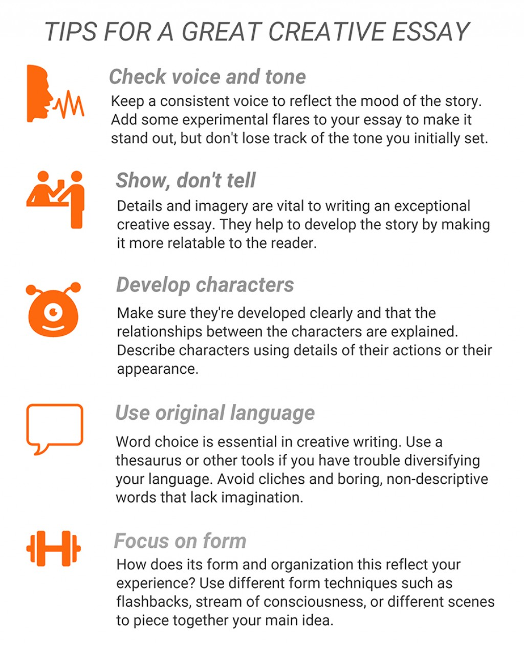 001 Essay Example Creative Tips For Imposing Examples Higher English Topics Grade 6 Writing Prompts Tumblr Large