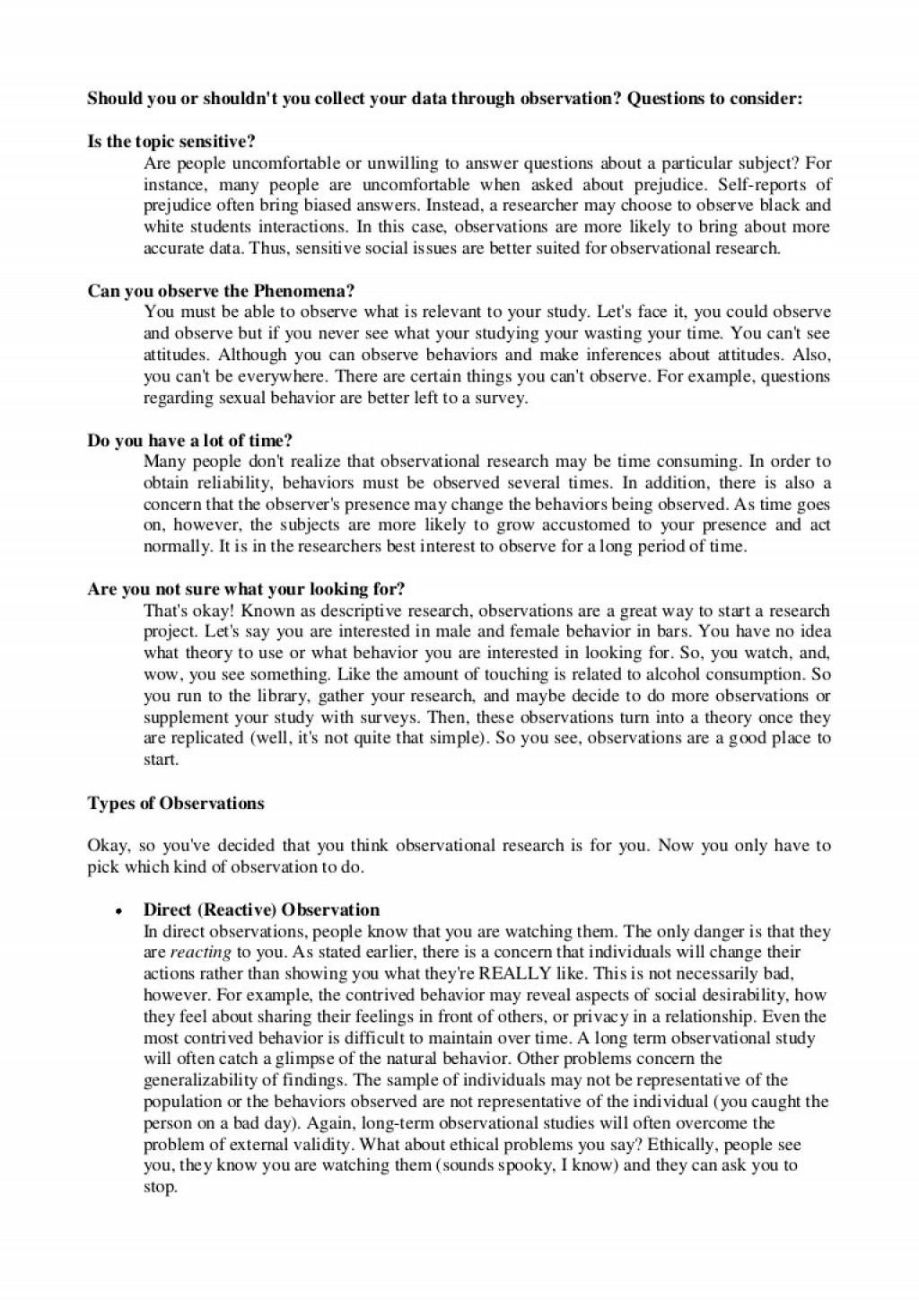 001 Essay Example Cultural Observation Observationinterview Phpapp02 Thumbnail Awful Large