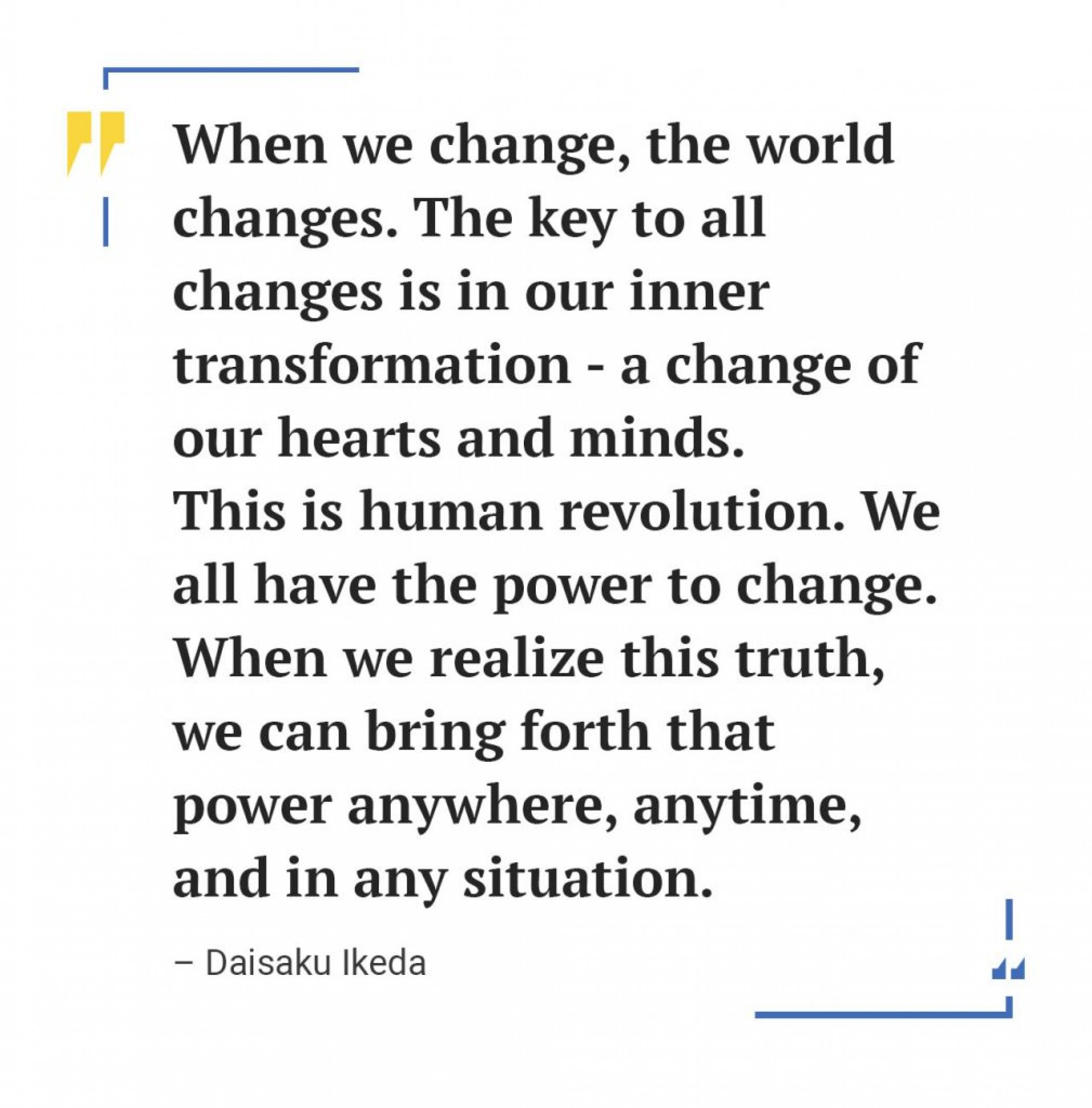 001 Essay Example Daisaku Ikeda Quote 1009x1024 Awesome Change Topics The World Contest Titles 1920