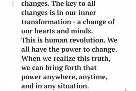 001 Essay Example Daisaku Ikeda Quote 1009x1024 Awesome Change Topics The World Contest Titles