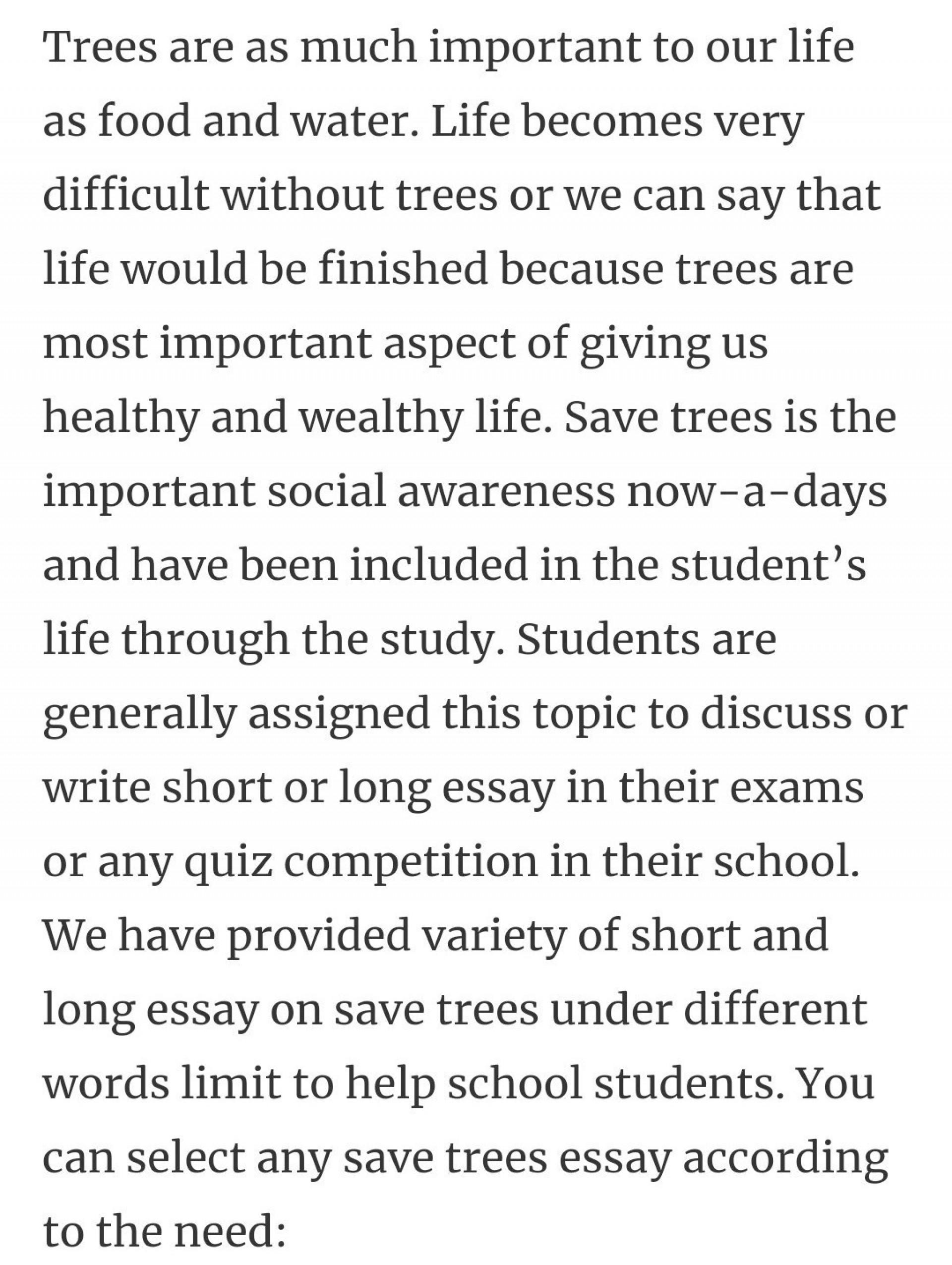 001 Essay Example Description Of Trees For Striking Essays 1920