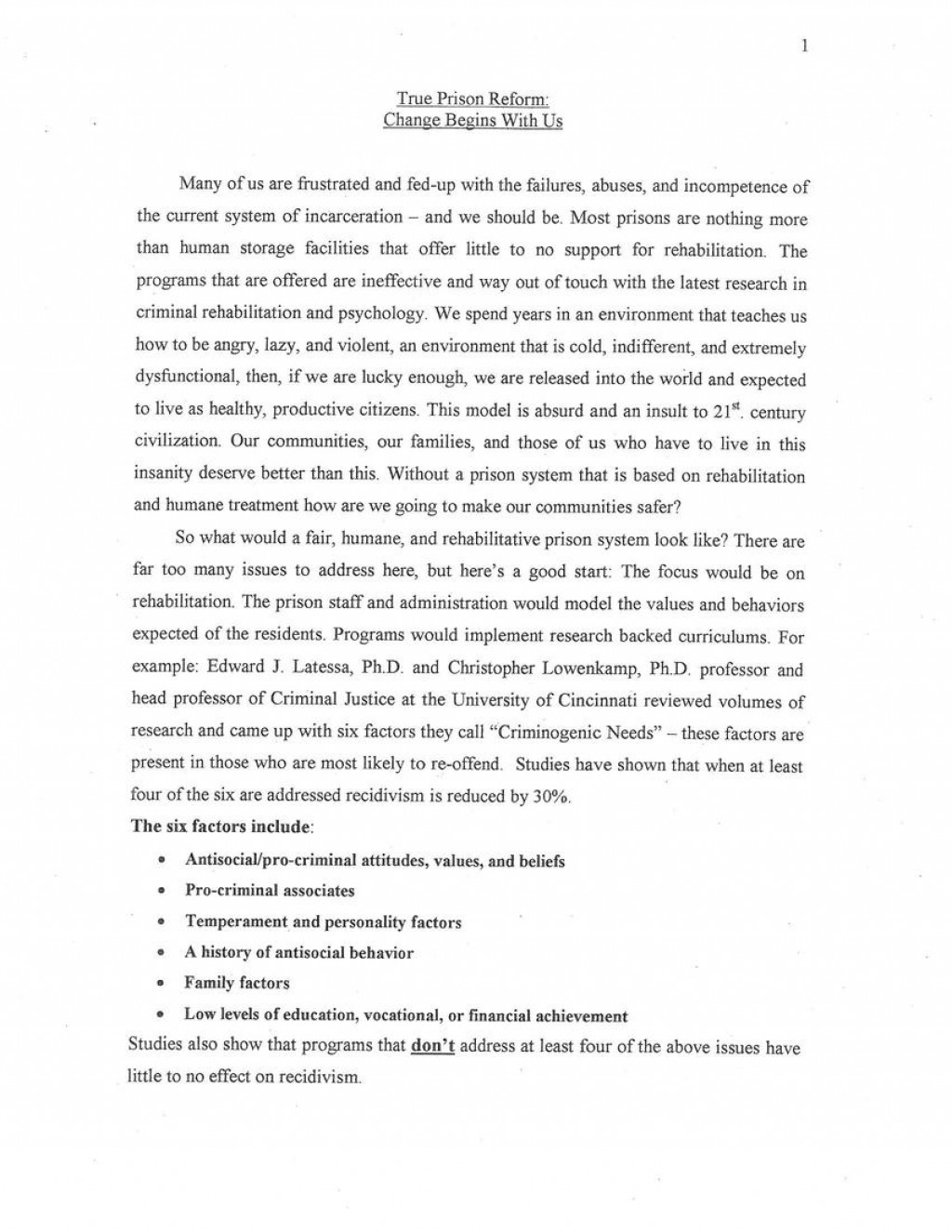 001 Essay Example Doc6217 Page Of Personality Wonderful Profile Large