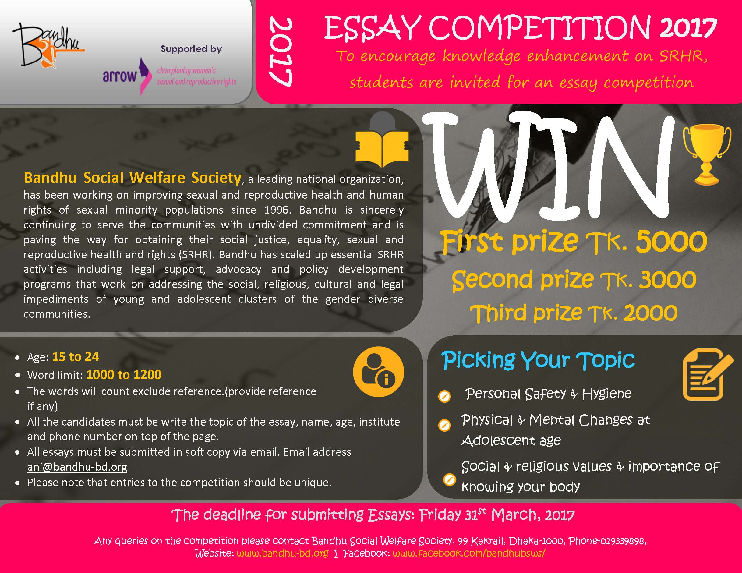 001 Essay Example Competition Contest Staggering 2017 Online India Writing High School Optimist International Full